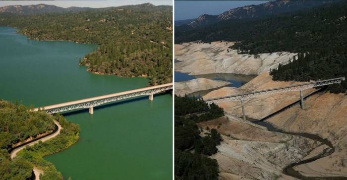 Lake-Oroville-California