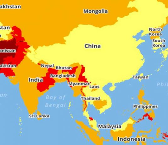 Dangerous-Countries-World-Map-534x462