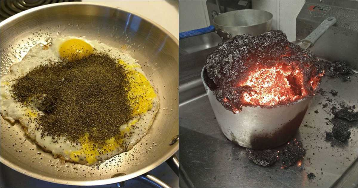 Here Are Some Of The Funniest Husband Cooking Fails