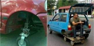Flat Tyre Funny Solutions